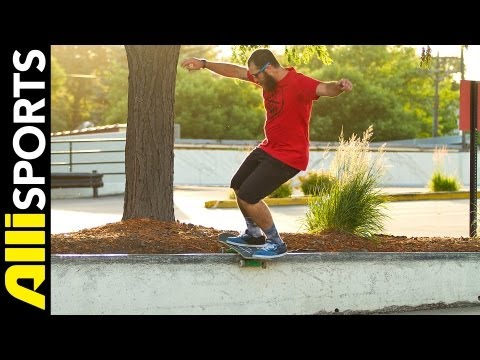 How To Wallie Boardslide, Andrew Cannon, Alli Sports Skateboard Step By Step Trick Tips