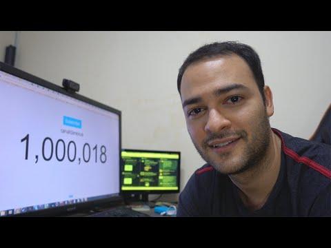 A MINHA REAÇÃO AO CANAL CHEGAR A 1 MILHÃO DE #LofS
