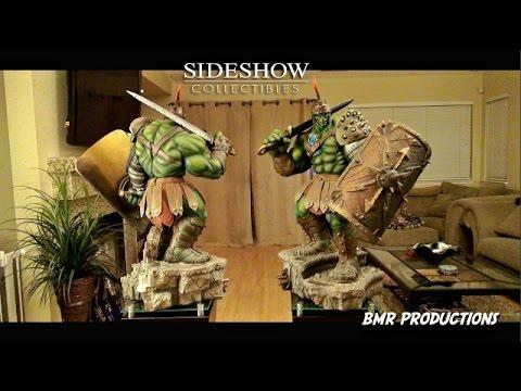 Sideshow Gladiator Hulk Premium Format Figure Review