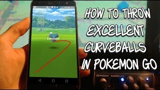 How To Throw Excellent Curveballs In Pokemon Go With Hand Motions