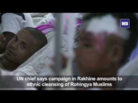 Rohingya lives and limbs shattered by mines at Myanmar frontier