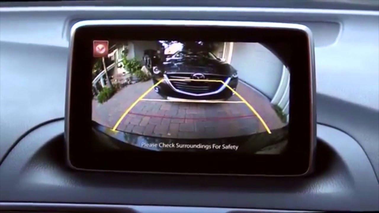 2014 Mazda3 Rearview Back Up Camera Tutorial - YouTube