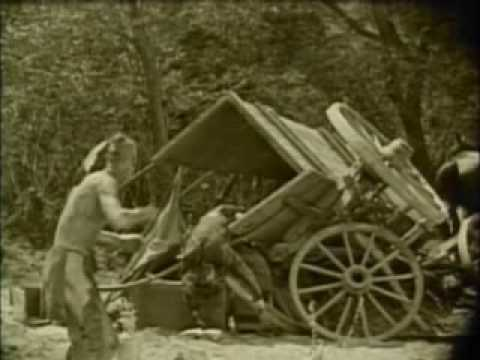Last of the Mohicans 1920 silent film part 5