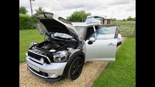 2012 Mini Countryman Cooper SD Crystal Silver Chilli JCW Pack