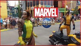 Marvel Superheroes Meet 'n' Greet   Island Of Adventure   Universal Orlando   2018