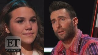Adam Levine Pleads For Reagan Strange On 'The Voice'