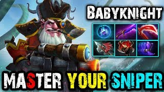 Master Your [Sniper] Skill Watch This Video by Babyknight | Dota 2 FullGame