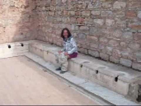 2008 12 Roman Toilet YouTube