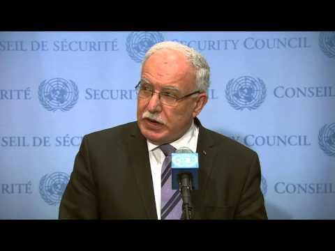 MaximsNewsNetwork: U.N.: Israeli Amb. Danny Danon & Palestine F.M. Riyad al-Maliki
