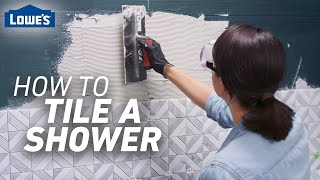 How to Tile a Shower | Tile Prep and Installation