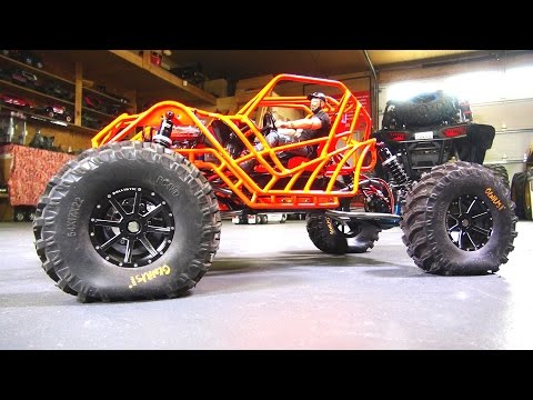 MOA ROCK BOUNCER iS DONE! Dual TEKiN RX4 ESC's. REAR STEER & FUTABA T4PX   RC ADVENTURES