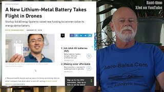 """RC News: DIY drones deemed """"dangerous"""", new battery tech, injuries and lunacy"""