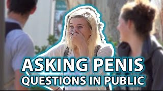 Asking SIRI PENIS Questions in Public Prank!