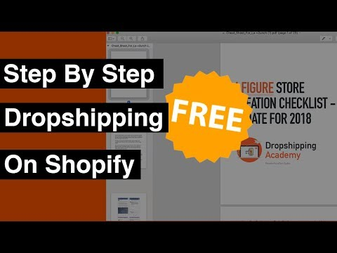 Step By Step Dropshipping On Shopify + Dropshipping Secret Cheat Sheet