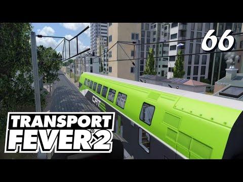 Transport Fever 2 S6/#66: Mit dem ÖBB Cat durch die Stadt [Lets Play][German][Deutsch]
