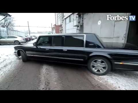 Car build for Vladimir Putin Russian GAZelle Limousine