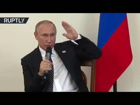 Путин о возможности отмены контрсанкций в отношении Запада Фиг им!