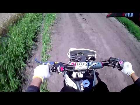 Дал газу на питбайке / Ride on pitbike!