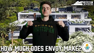 WHAT DOES ENVOY SPEND HIS MONEY ON?