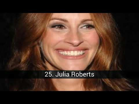 The best actors and actresses of Hollywood