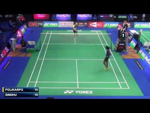 R16 - WS - Sindhu P.V. vs Ksenia Polikarpova - 2014 Badminton Denmark Open (F 0-4)