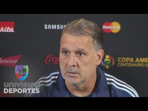 Gerardo Martino aseguró que Messi será titular ante Venezuela