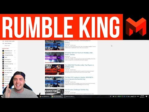 Destiny 2 Rumble: Who is the Rumble King?