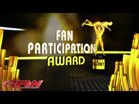 Fan Participation: 2013 Slammy Award Presentation