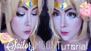 ☾ Sailor Moon Makeup Tutorial/Transformation • JackyOhhh ☽