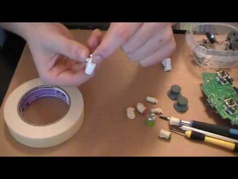 How to paint your Xbox 360 controller buttons. triggers. and thumbsticks!