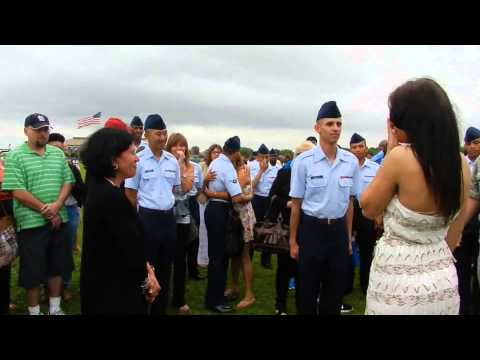 Air Force Graduation Marriage Proposal video