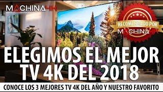 ELEGIMOS EL MEJOR TV 4K 2018 | ADEMÁS EL MEJOR TV 4K PARA JUEGOS Y GAMA ALTA DEL 2018