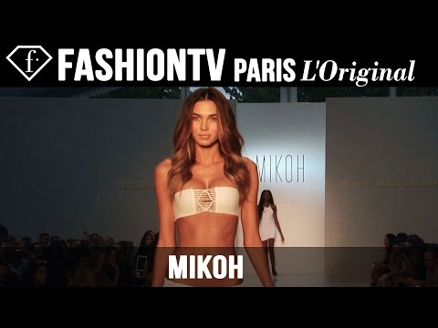 Mikoh Swimwear Show | Miami Swim Fashion Week 2015 Mercedes-Benz | FashionTV