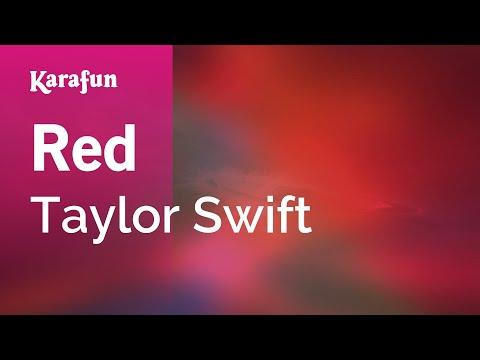 Karaoke Red - Taylor Swift *