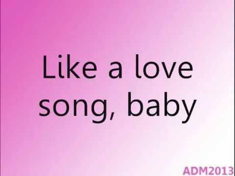 Selena Gomez & The Scene - Love You Like A Love Song (w  Lyrics) video