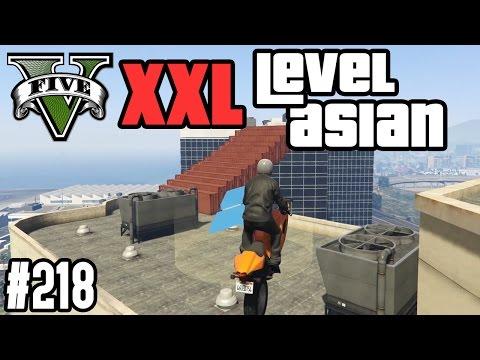 XXL LEVEL ASIAN PARKOUR - PURE VERZWEIFLUNG ! (+DOWNLOAD)   GTA V - CUSTOM MAP RENNEN