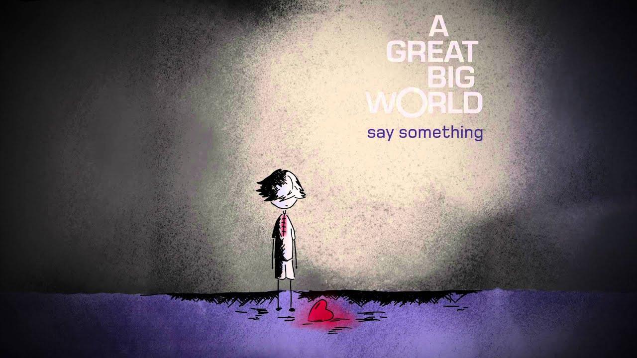 Christina Aguilera ft. A Great Big World – Say Something (Lyrics)