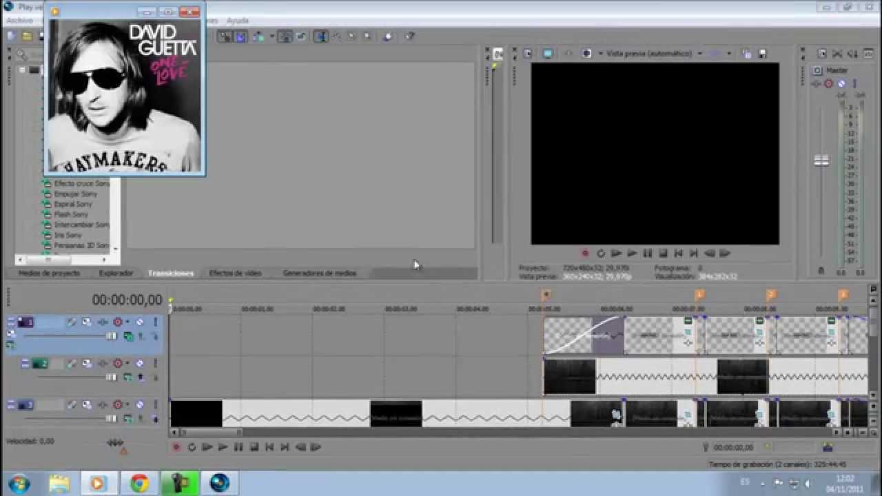 INTRO TEMPLATE - Sony Vegas Pro 13 - GENESIS OPENING