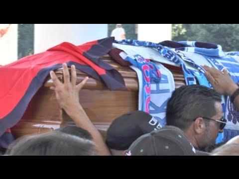 Napoli - I funerali di Ciro Esposito a Scampia -live- (27.06.14)