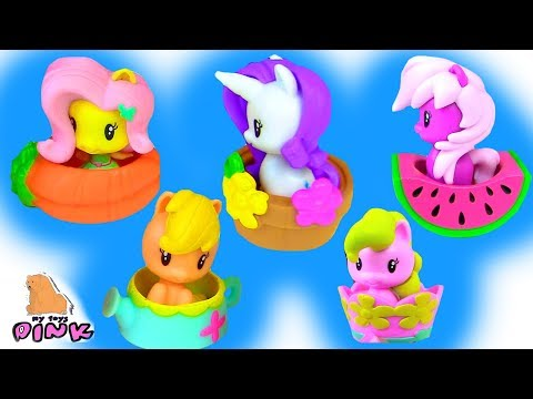 МИЛАШКИ ПОНЯШКИ В СЮРПРИЗАХ! MLP My Little Pony Cutie Mark Crew Мультик Май Литл Пони + Распаковка