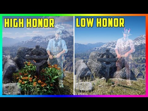 What Happens If You Visit Arthur's Grave With HIGH Honor Vs LOW Honor In Red Dead Redemption 2?