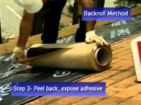 Grace Ice Amp Water Shield 174 Roofing Underlayment Youtube