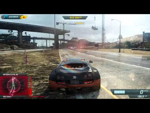 Need for Speed Most Wanted 2012: Bugatti Veyron SuperSport VS Pagani Huayra