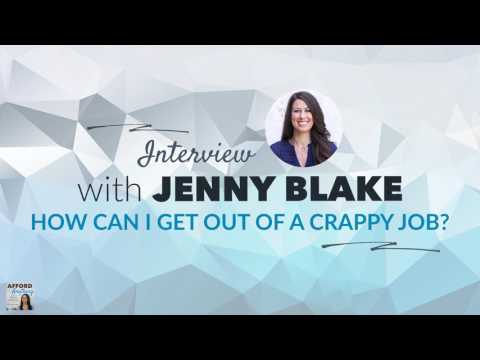 Jenny Blake on How to Get Out of a Crappy Job (Author of Pivot)   Afford Anything Podcast (Ep. #81)