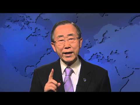 Truce: Video message by UN Secretary-General Ban Ki-moon