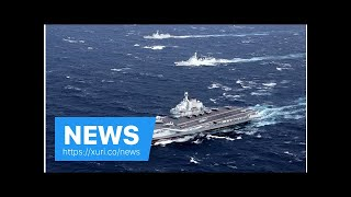 News - In the context of stress, carrier China sails through Taiwan Strait