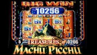 TREASURES OF MACHU PICCHU | WMS - Big Win! Slot Machine Bonus