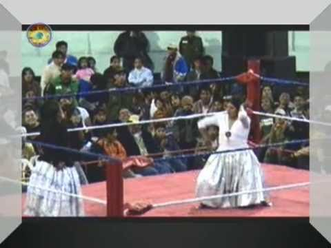 2010 12 05 Bolivia Hzf P1570671 Cholitas Wrestling Part 3 Of 4 Two 
