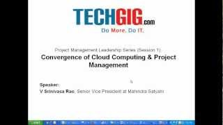 Introduction - Convergence of Cloud Computing & Project Management-1