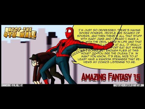 Amazing Fantasy #15 - Atop the Fourth Wall - Linkara